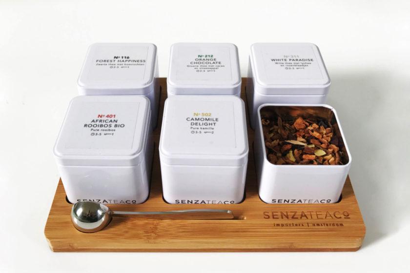 Senza Tea: échte thee nu te bestellen bij Lunchtafel